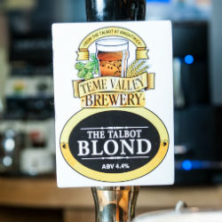 The Talbot Blond - Real ale at Ombersley Golf Club