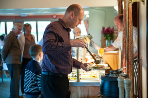 Book early for our popular Sunday Carvery