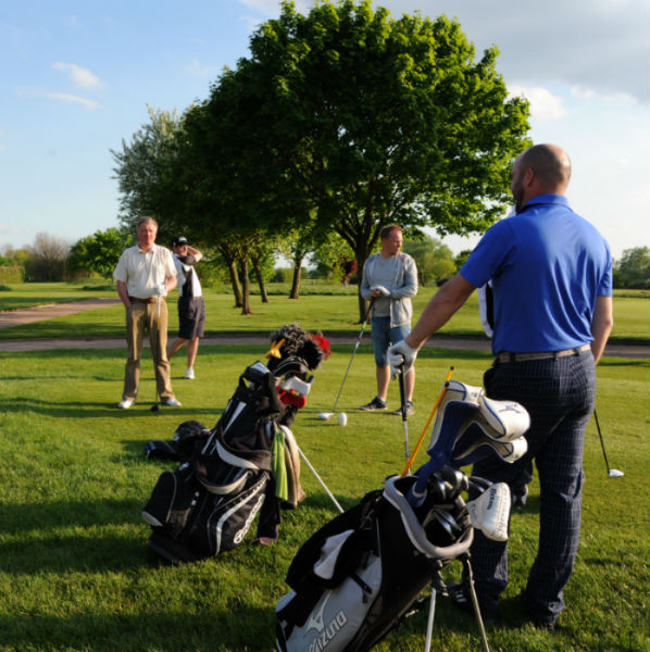 Golf society playing at Ombersley