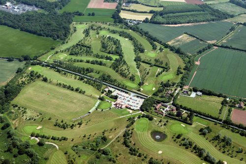 Course overview - Ombersley Golf Club from the air!