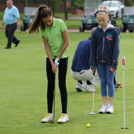 Learn to play golf at Ombersley Golf Club