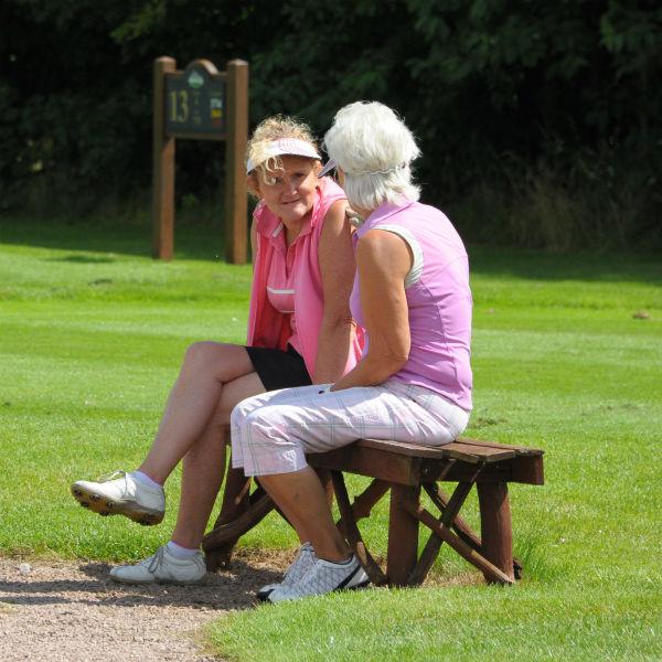 Ladies golf at Ombersley Golf Club