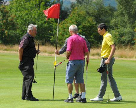 Men's golf at Ombersley Golf Club