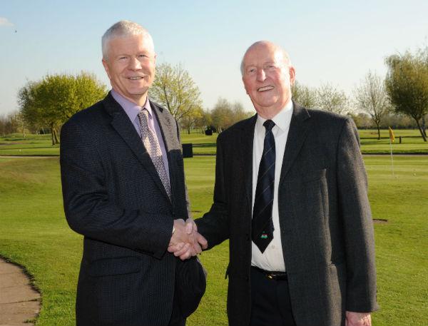 Roy Crowe. Honorary Life President of Ombersley Golf Club