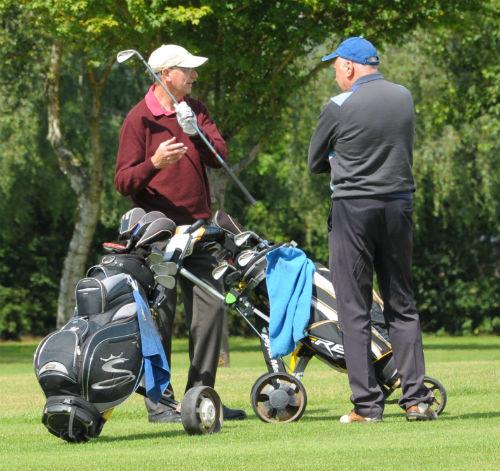 Senior golf at Ombersley Golf Club