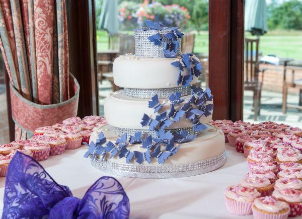 Wedding reception at Ombersley Golf Club