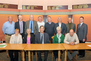 Ombersley Golf Club Committee 2016