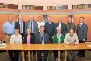 Ombersley Golf Club Committee 2016